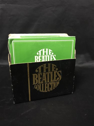 Lot 3-THE BEATLES COLLECTION RECORDS