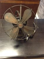 Lot 907-AN EARLY 20TH CENTURY 'ALL-BRITISH ZEPHYR FAN'