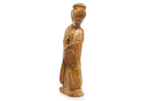 Lot 970-A CHINESE IVORY FIGURE