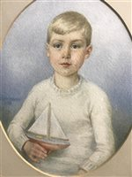 Lot 55-EDITH DAVEY, CHILDREN'S PORTRAITS
