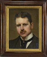 Lot 416-PORTRAIT OF A GENTLEMAN, ATTRIBUTED TO WILLIAM STRANG