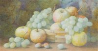 Lot 626-SUMMER FRUITS, BY FREDERICK R SPENCER