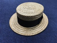 Lot 35-CHRISTYS' OF LONDON BOATER HAT