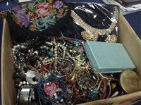 Lot 41-LOT OF VINTAGE AND NEW COSTUME JEWELLERY