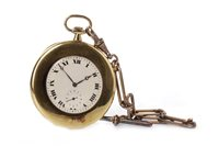 Lot 795-A POCKET WATCH AND WATCH CHAIN
