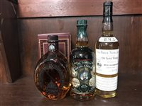 Lot 4-DIMPLE AGED 15 YEARS, BALLIE NICOL JARVIE & GORDON HIGHLANDERS