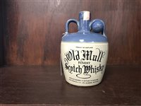 Lot 10-OLD MULL CERAMIC FLAGON