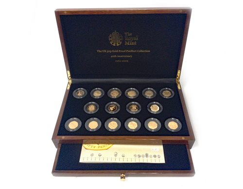 Lot 501-A GOLD PROOF COIN COLLECTION