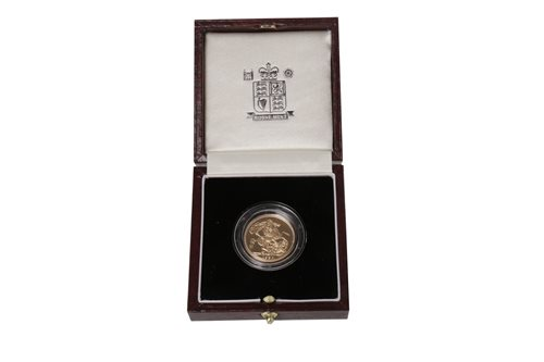 Lot 502-A GOLD SOVEREIGN, 1995