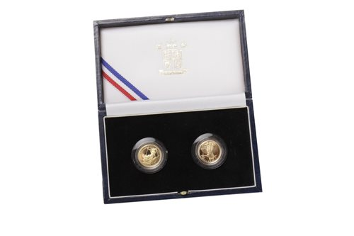Lot 503-A GOLD COIN SET