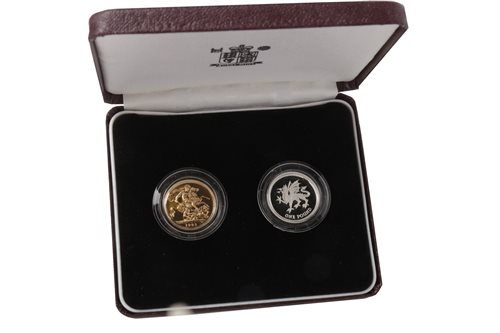 Lot 516-A GOLD COIN SET