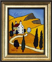 Lot 106-THE OLD MANSE IN GLEN MARTIN, BY IAIN CARBY