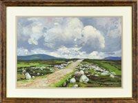 Lot 635-AN IRISH BOG ROAD, BY HUGH CAMERON WILSON