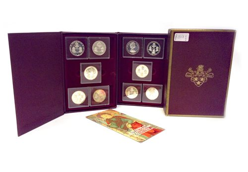 Lot 517-SILVER COIN COLLECTION