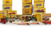 Lot 919-FORTY-ONE LESNEY MATCHBOX SERIES DIE-CAST VEHICLES