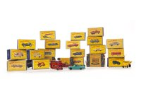Lot 920-TWENTY-THREE LESNEY MATCHBOX SERIES 1-75 DIE-CAST VEHICLES