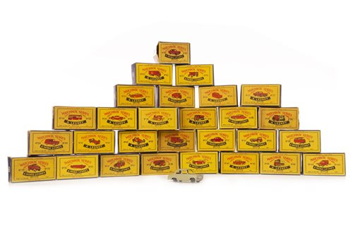 Lot 921-TWENTY-EIGHT LESNEY MATCHBOX SERIES 1-75 DIE-CAST VEHICLES