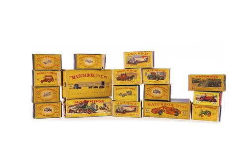 Lot 922-FOUR LESNEY MATCHBOX SERIES KING SIZE DIE-CAST VEHICLES