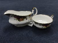 Lot 69-A ROYAL ALBERT OLD COUNTRY ROSES PART DINNER SERVICE