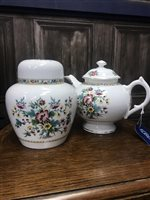 Lot 73-A COALPORT MING ROSE PART TEA SERVICE