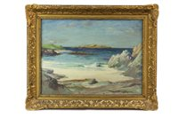 Lot 422-A SUMMER SEA, IONA, BY DONALD MACQUARRIE