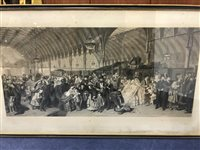 Lot 93-SIGNED PRINT BY WILLIAM POWELL FRITH