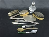 Lot 54-A SILVER COMPOSITE VANITY SET
