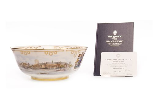 Lot 1217-A WEDGWOOD THAMES BOWL