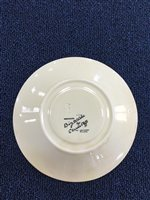 Lot 1227-A CLARICE CLIFF FOR NEWPORT FANTASQUE BIZARRE COFFEE CUP AND SAUCER