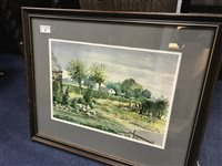 Lot 30-A WATERCOLOUR BY ALISTAIR ANDERSON
