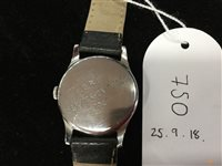 Lot 750-A GENTLEMAN'S OMEGA MILITARY ISSUE WATCH
