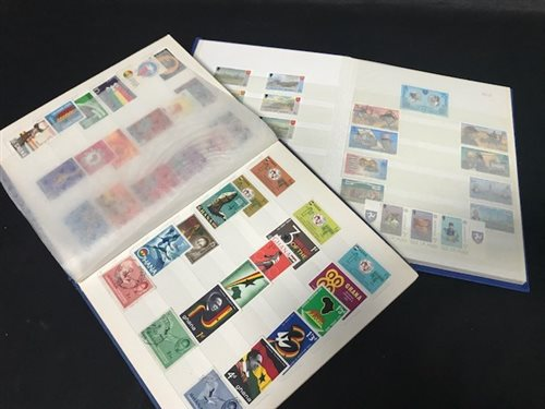 Lot 31-A STOCK BOOK FULL OF ISLE OF MAN STAMPS