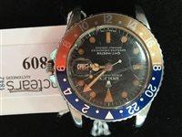 Lot 809-GENTLEMAN'S ROLEX  GMT MASTER PEPSI WATCH