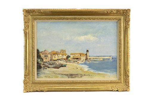 Lot 426-IAN HOUSTON, COLLIOURE BEACH