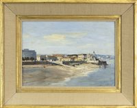 Lot 428-THE BEACH AT CASCOUIS, BY IAN HOUSTON