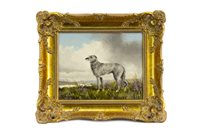 Lot 433-A SCOTTISH DEERHOUND, BY WILLIAM ROBERT JENNINGS