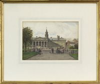 Lot 463-JAIL SQUARE - THE OLD HIGH COURT JUSTICIARY BUILDING AT SALTMARKET, BY PATRICK DOWNIE