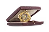 Lot 970-A RARE FIFTEEN CARAT GOLD SCOTTISH LEAGUE CHAMPIONSHIP 1911-12 MEDAL AWARDED TO GEORGE ORMOND (RANGERS F.C.)