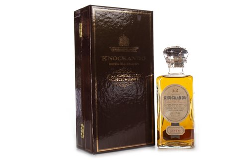 Lot 1005-KNOCKANDO 1970 EXTRA OLD RESERVE