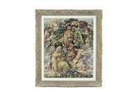 Lot 432-YOUNG JAPANESE GIRLS GATHERING FLOWERS, BY EDWARD ATKINSON HORNEL