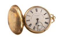Lot 756-A VICTORIAN EIGHTEEN CARAT GOLD POCKET WATCH