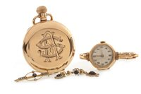 Lot 9-A COLLECTION OF JEWELLERY AND WATCHES