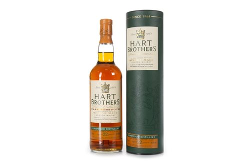 Lot 1023-LINKWOOD 1990 HART BROTHERS AGED 22 YEARS