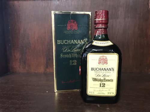 Lot 16-BUCHANANS 12 YEARS OLD