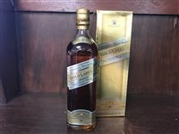 Lot 20-JOHNNIE WALKER GOLD LABEL 18 YEARS OLD