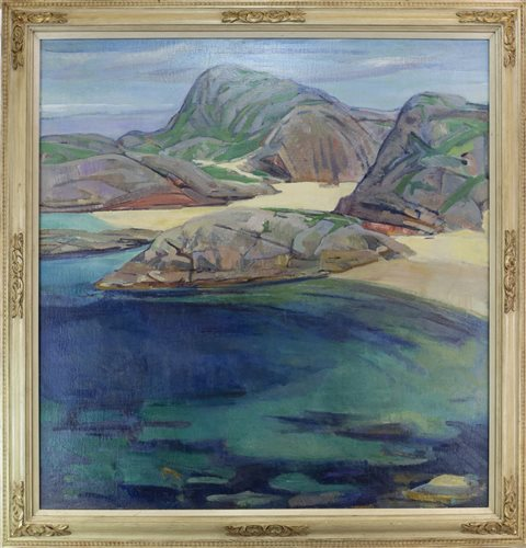 Lot 419-PORT BHAN, IONA, SCOTTISH COLOURIST SCHOOL