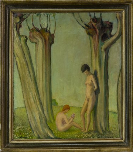 Lot 469-IN THE PARADISE GROVE, EARLY 20TH CENTURY