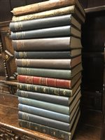 Lot 992-FIFTEEN BOUND VOLUMES OF THE ILLUSTRATED LONDON NEWS  1848 (Jan.-June); 1849 (Jan.-June); 1875 and 1880 (Vols. 1); 1914 (July-Dec.); 1915-1919 (Complete), 15 volumes