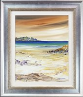 Lot 18-COASTAL VIEW, BY DEREK SANDERSON