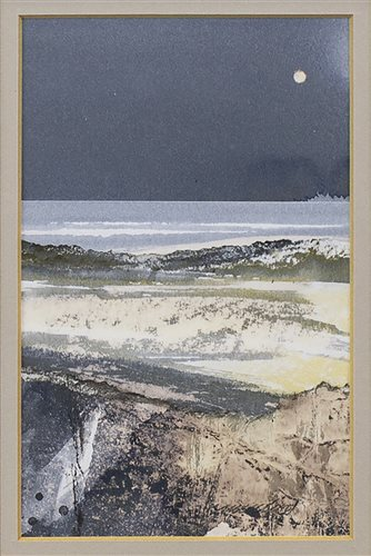 Lot 23-MOON AND TIDE, BY DUNCAN MACLEOD